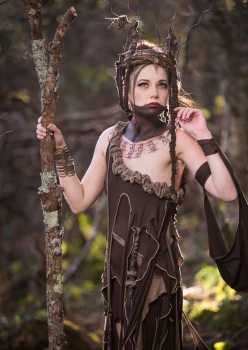 dryad tree spirit costume by Accentuates Clothing